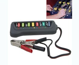 Wholesale 12V Auto Car Battery Alternator Load LED Light Battery Tester Digital Display Indicates Condition