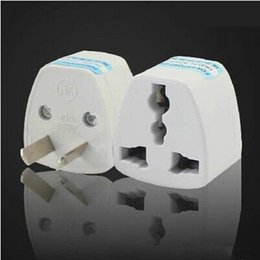 Wholesale AU Travel Adapter Universal to Australia Foreign Socket Converter World Power Plug pin Convertor Australian Plugin Port Outlet Home Wall