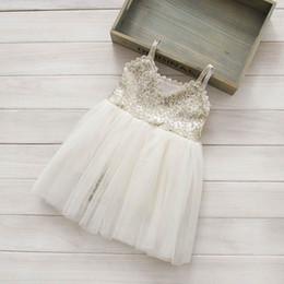Summer Girl Dress Front Back Both Sequins Gauze Ballet TUTU Dress Performance Dress 2-7Y 1881