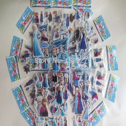 Wholesale hot pieces elsa Animated classic cartoon stickers book stickers doll sticker