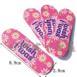 Wholesale Emery File Mini Nail File cm Sandpaper Emery Board Manicure Pedicure Tools