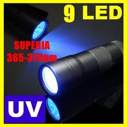 Wholesale SUPERIA LED uv Flashlight nm UV Light Ultraviolet light for uv leak detector nm Best world ultraviolet lamp Can OEM