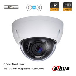 Descuento mini cámaras wi fi Dahua 3.0MP CMOS IP66 Full HD Wi-Fi IR Mini Seguridad 1080P Dome Camera 3.6mm Lente