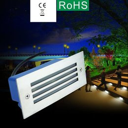 Wholesale The new full aluminium led step light w embedded stair park night light buried lights