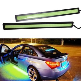 Wholesale 1Pair Waterproof daytime running light led car strip lamp automotive car styling automobiles order lt no tracking