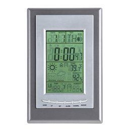 Wholesale New Special Design Ambient Weather Wireless Advanced Weather Station Temperature digital Alarm Clock