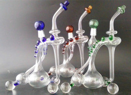 Eaux fraîches à vendre-Slim Cooler Recycler Tuyaux d'eau Oil Rigs avec inliner perc verre schott de haute qualité avec joint de 14,5 mm