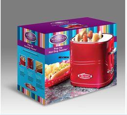 Wholesale Home Mini breakfast Automatic sausage machine hot dog machine toaster bread maker multivarka