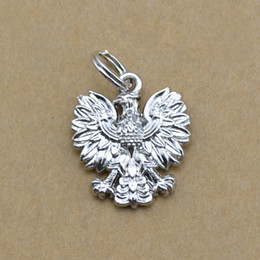 10pcs polish eagle animal gift charm