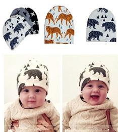 Wholesale Newborn hats beanies hats caps Caps Hats Top Hats baby cap boy hat grils hat kids caps Hat baby Cotton cartoon baby warm