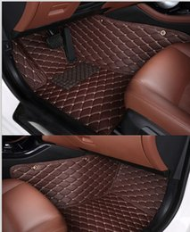 Wholesale Good quality Custom special floor mats for BMW X5 seats E70 wear resisting durable non slip carpets for X5