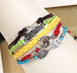 Wholesale 2016 styles charm bracelets Antique Bronze harry potter magic hallows bracelet harry potter bracelet owl wing bracelet