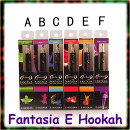 Wholesale Brand New Original Fantasia E hookah pen puffs disposable hookah pen disposable hookah flavoured cigarettes e cig flavours