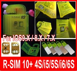 NEWEST R SIM 10+ RSIM 10+ Rsim10+ iphone Unlock for iphone 6s ios9 ios9.0 IOS9.1 IOS7.X-8.X-9.X 3G 4G GSM CDMA iphone 6 6s 5s 5 of carrier