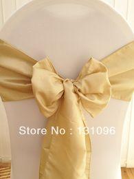 Wholesale Light Antique Gold Chameleon Sash x270cm For Wedding Events amp Party Decoration