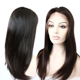 Wholesale Brazilian Hair Full Lace Wigs Straight Hair Weave Human Hair Wigs Weave Top Mink Hair Lace Wig Medium Cap Density Bella Hair