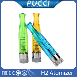 Wholesale GS H2 Clearomizer Atomizer E Cigarettes For GS H2 Atomizers Replace CE4 Cartomizer GSH2 tank Match With Evod eGo Batteries Kits