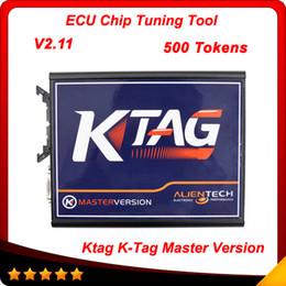 Wholesale 2015 K TAG ECU Programming Tool V2 Compatible Auto KTAG K TAG ECU Prog Tool Master Version via tokens