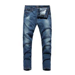 2016 men's jeans fashion jeans pencil pants outdoor leisure men's jeans size 28-38 ZAS358
