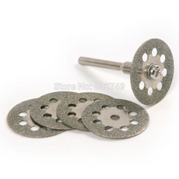 High Quality 5pcs 16-22 mm Diamond Cutting Discs Drill Bit For Rotary Tools Dremel Stone Saw Blade order<$18no track