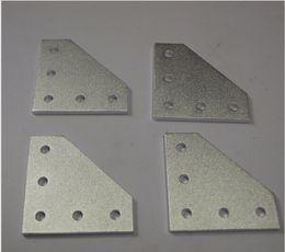 Wholesale OX CNC machine parts angle plate extrusion bracket Openbuilds OX CNC hole Joiner Plates top quality