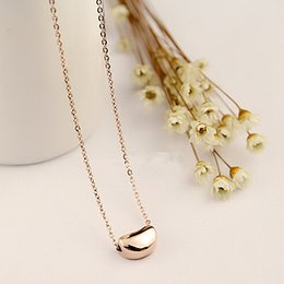 Fashion Crystal Chain Gift T Love Heart Pendent Necklace for Women fashion stainless steel jewelry Titanium steel Pendent Necklace for Women