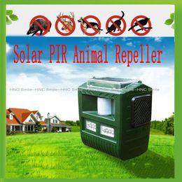 Wholesale Solar Ultrasonic Cat Dog Repeller Bird Animal Repeller Beast Bat Repeller PIR Motion Sensor Repellent Pest Reject