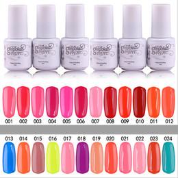 Wholesale 10PCS Gelish Nail Polish UV Gel Soak Off Gel Polish Nail Lacquer Varnish Brand New Top Quality Long lasting Colors Color ml