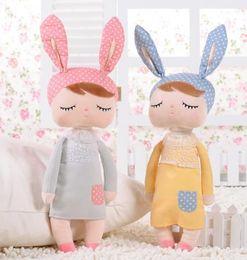 Descuento muñecas de la muchacha infantil metoo muñecas de la felpa de 2016 niños niñas Niños precioso peluche de conejo conejos bebés juguetes regalos BY0000