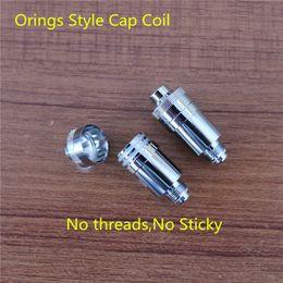 Glass atomizer 10 classic rebuildable ceramic coil core for wax dry herb vaporizer pen herbal vaporizer vapor electronic cigarette coil head