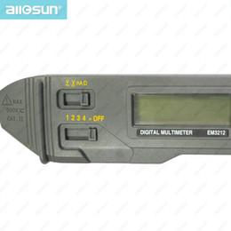 Wholesale all sun EM3212 Pen probe style digital multimeter non contact measuring AC DC voltage multimeter DC current resistance tester