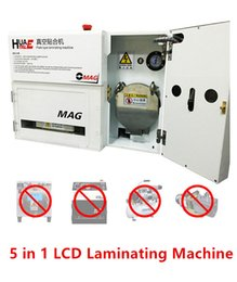 Wholesale OCA OMAG Glass Lens Touch Screen LCD In Plate Type Laminating Machine Repair Tool No Bubble No Need Vacuum Pump Air Compressor Mold