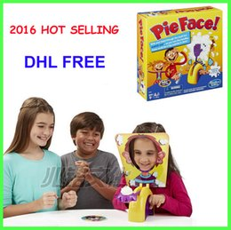 Wholesale Best Korea Running Man Pie Face Game Pie Face Cream On Her Face Hit The Send Machine Paternity Toy Rocket Catapult Game Consoles