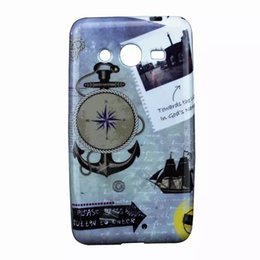 Wholesale Dream Catcher TPU GEL Soft Daft Punk Tribal case Boat Anchor Flower Meteor Shower Owl For Samsung Galaxy Core G355 G3556D skin