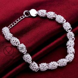 Trendy Fashion Bracelet 925 sterling silver bracelet lock links chain bracelet H354