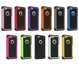 Wholesale Defender Hybrid Rugged Heavy Duty Shock Proof Rubber PC Armor Case Cover for iPhone plus S G G S C for samsung s6 edge