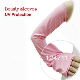 Wholesale-6 Pairs New Arm Sleeves UV Sun Protection Hand Cover Moisture Wicking Arm Protector