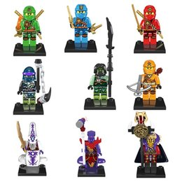 Wholesale 540pcs models Minifigures Cole Jay Kai Lloyd Minifigures Building Blocks ninja ghyg