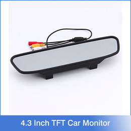 Wholesale New Inch TFT Auto LCD Screen Car Monitor Mirror Rearview Backup Camera for Car Reversing Record