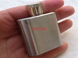 Fedex DHL Shipping Free Wholesale Lead -free 1 oz stainless steel mini hip flask 100pcs lot