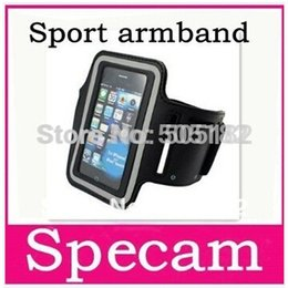 Wholesale Free drop shipping Sport Running Elastic Rubber Armband For iPhone GS iPod Touch Arm Band Case Cover Holder tracking number