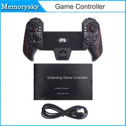 Pc joystick en Línea-El más reciente BTC-938 juego de la radio del controlador telescópica Joystick Gamepad para Android Tablet PC TV Box 010210 Smartphone