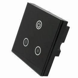 2016 единая панель Оптово-DC 12V-24V 8A TM05 Сенсорная панель LED Dimmer 3 сенсорные кнопки для одноцветные Газа единая панель продаж