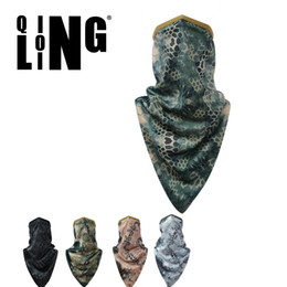 Wholesale Tsing Lung Lin speed dry sand prevention and control of air and dust reflective breathable printing Army Tactical mask