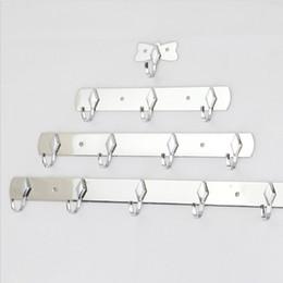 Wholesale New Arrival Stainless Steel Coat Hooks Hanging Over Door Hanger Bathroom Bedroom Kitchen Clothes Rack Hook