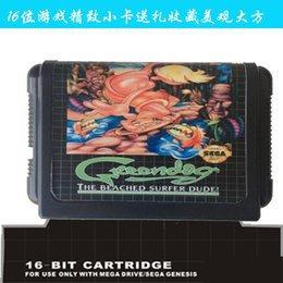 Wholesale-2015 newest edition 16 bit sega game cartridge classic game card ------------ green dog