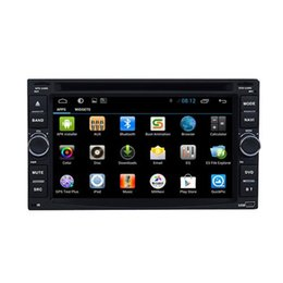 Android Car DVD Players DC12V Universal In Dash Car DVD Players with FM AM Radio 6.2 Inch Touch Screen GPS Function Sale