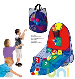Wholesale Children Play Tent Play House Basketball Basket Tent Outdoor Sport Best educational Kids Toys Beach Lawn Tent Ocean Balls Pool