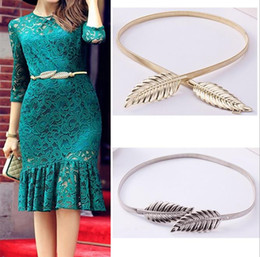 Wholesale new fashion hot ally gold silver leaf belt belly chain jewelry Infinity gift for women girl