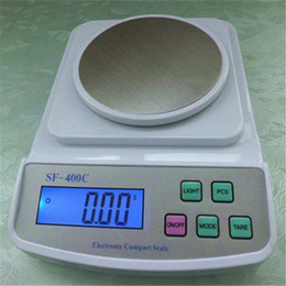 Wholesale 500g g Counting Function Kitchen Scales Digital Stainless Weighting Pan Best Home Scale Rectangle Shape Personal Weight Scales for Sale